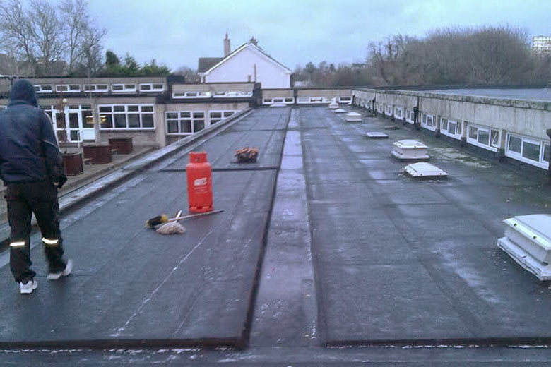 Commercial School Roof Dublin