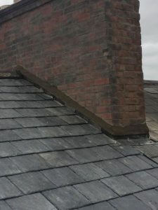 Roof Repair Flashing Chimney
